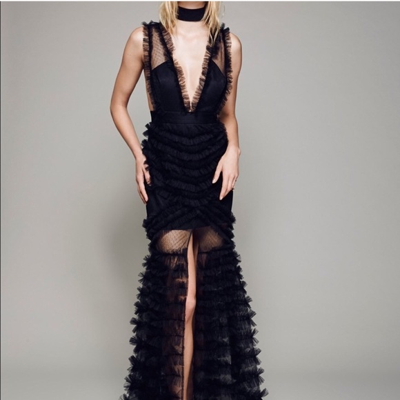 e8cc8b6276 Alice McCall All Black Everything Gown